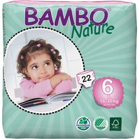 Nature Disposable Nappies - XL PLus - Size 6 - Pack Of 22