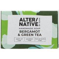 Alternative by Suma Handmade Soap - Bergamot and Green Tea - 95g
