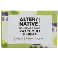 Alternative by Suma Handmade Soap - Patchouli and Hemp - 95g