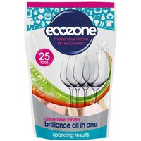 Brilliance All In One Dishwasher Tablets - 25