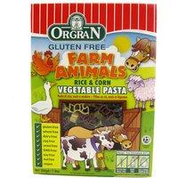Rice & Corn Animal Pasta Shapes - 200g
