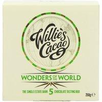 5 Wonders Of The World Chocolate Tasting Box - 5 X 50g