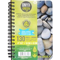 """A6 Stone Paper Notebook - 4 x 6"""" - 65 Ruled Sheets"""""""