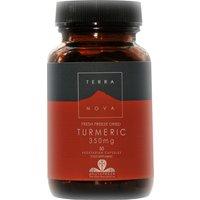 Vegan Organic Turmeric Root Supplement 350mg - 50 Capsules