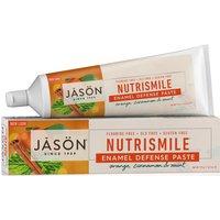 Jason Nutrismile Antiplaque & Enamel Defense Fluoride Free Toothpaste - 122g