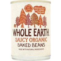 'Whole Earth Organic Baked Beans - 400g