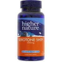 Serotone 5HTP Natural Food Supplement - 100mg - 90 Tablets