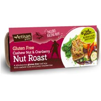 Artisan Grains Nut Roast - Cashew and Cranberry - 200g