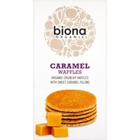 'Biona Caramel Syrup Waffles - 175g