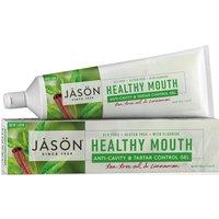 Jason Healthy Mouth Tartar Control Toothgel With Fluoride - Tea Tree & Cinnamon - 170g