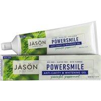 Jason Powersmile Whitening Anti-cavity Toothgel With Fluoride - Peppermint - 170g