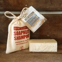 Living Naturally Coconutty Soapnut Shampoo Bar