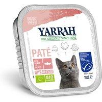 'Yarrah Organic Cat Food - Pate With Msc Salmon & Seaweed 100g