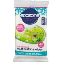 Anti-Bacterial Multi Surface Wipes - 40 Wipes