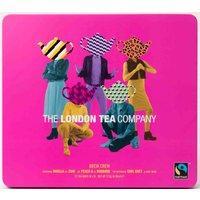 London Tea Company Fairtrade Tea Brew Crew Tea Collection Gift Tin - 72 Bags