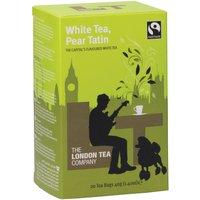 London Tea Company Fairtrade White Tea & Pear Tatin Tea - 20 Bags