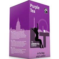 London Tea Company Fairtrade Purple Tea - 20 Bags