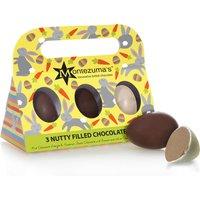 Montezuma's Nutty Filled Chocolate Eggs - 140g