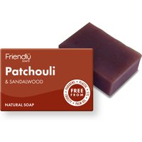 Friendly Soap Patchouli and Sandalwood Bath Soap - 95g