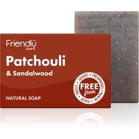Friendly Soap Patchouli and Sandalwood Bath Soap - 95g