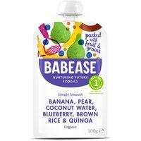 Organic Banana Pear & Coconut Water - 100g