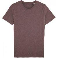 Mens Organic Cotton Round Neck Heather T-Shirt