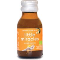 Organic Concentrate Juice Shot - Ginger & Lemon - 60ml
