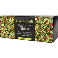 Beech's Dark Chocolate Lime & Chilli Thins - 150g