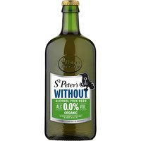 St Peter's Without Alcohol Free Beer - Organic - 500ml