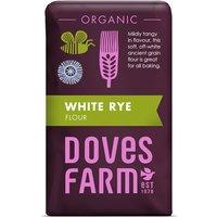 Doves Farm Organic White Rye Flour - 1kg