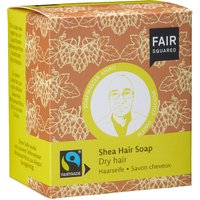 Shea Hair Soap With Cotton Soap Bag - Dry Hair - 2 X 80g
