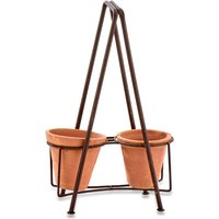 Jara Double Planter Stand