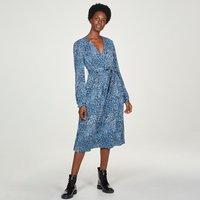 Thought Saraband Wrap Dress - Atlantic Blue