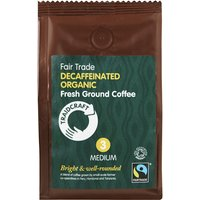 Traidcraft Organic and Fairtrade Medium Roast Decaff Ground Coffee - 227g