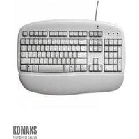 Logitech Value Keyboard White (US qwerty Intenrational Layout)