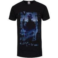 Clawed Man Silhouette Men's Black Tshirt / Medium (Mens 38 to 40)