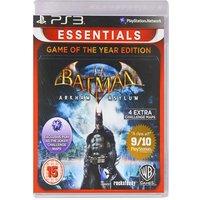 PS3 BATMAN ARKHAM ASYLUM GAME OF