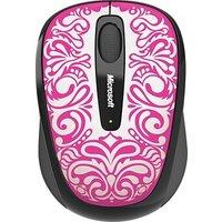 MICROSOFT Wireless Mobile mouse 3500, USB, ER, English, Folk