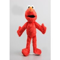 Elmo Fabric Doll Sesame Street Stuffed and Plush Toy Red