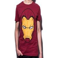 Marvel - Iron Man men's T-Shirt Head S Red