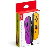 Nintendo Neon Purple/ Neon Orange Joy-Con (L/R) - Official Nintendo Switch JoyCon Controllers Pair Multi-Colored