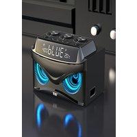 Original SOAIY Subwoofer Sound Bluetooth Speaker LED Display Cool Owl Design Wireless Loudspeaker three speakers compute
