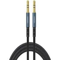 Cable 1m Audio AUX minijack 3.5mm to minijack 3.5mm JOYROOM Car Stereo Audio (SY-10A1) blue
