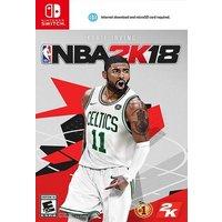 Switch NBA 2K18 English EU