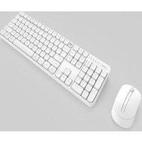 ensemble de clavier et souris sans fil White