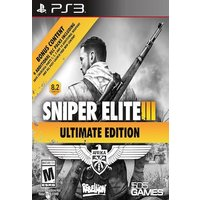 PS3 SNIPER ELITE III ULTIMATE ED