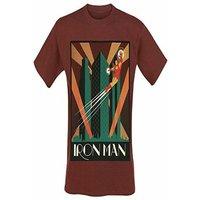 Marvel - Iron man men's t-shirt S Red