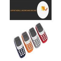 BM10 Pocket Mini GSM Mobile Phone Bluetooth Dialer Headset Cellphone Orange