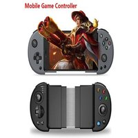 Wirelessx Joystick For Phone Gamepad Android Game Controller Bluetooth Extendable Joystick For 3.5-6.5 Inch Android IOS Black