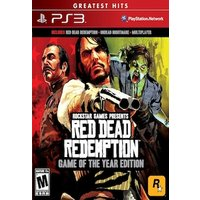 PS3 RED DEAD REDEMPTION GAME OF THE YEAR EDITION - ALL ENG